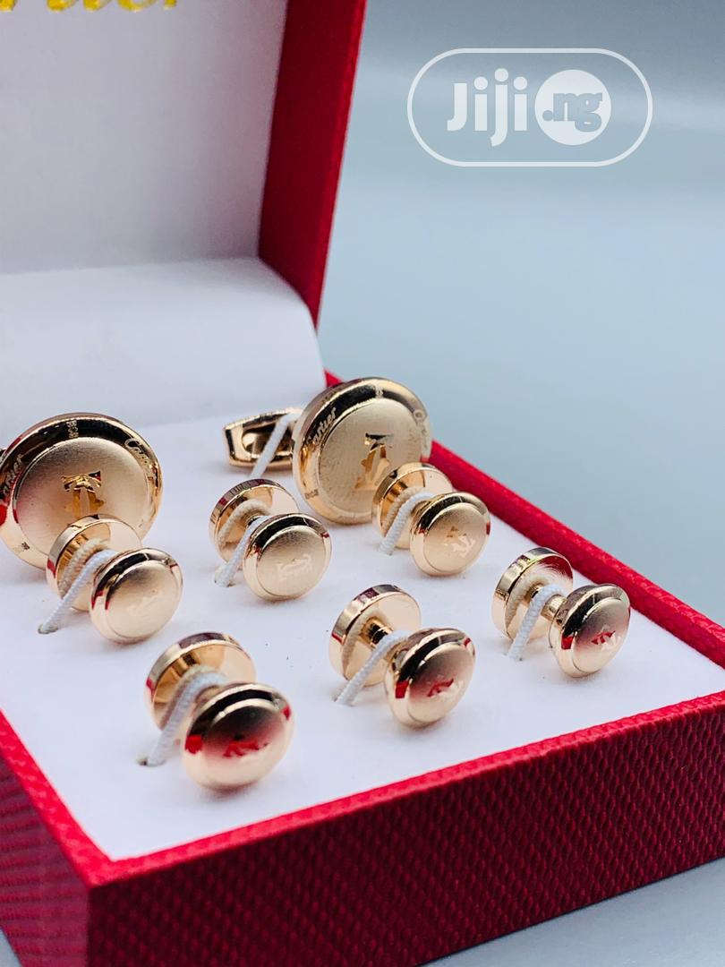 Archive: Cartier Cufflinks With Button