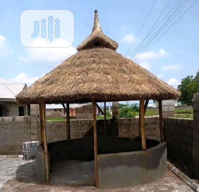 Africa Bush Bar Gazebo Hut