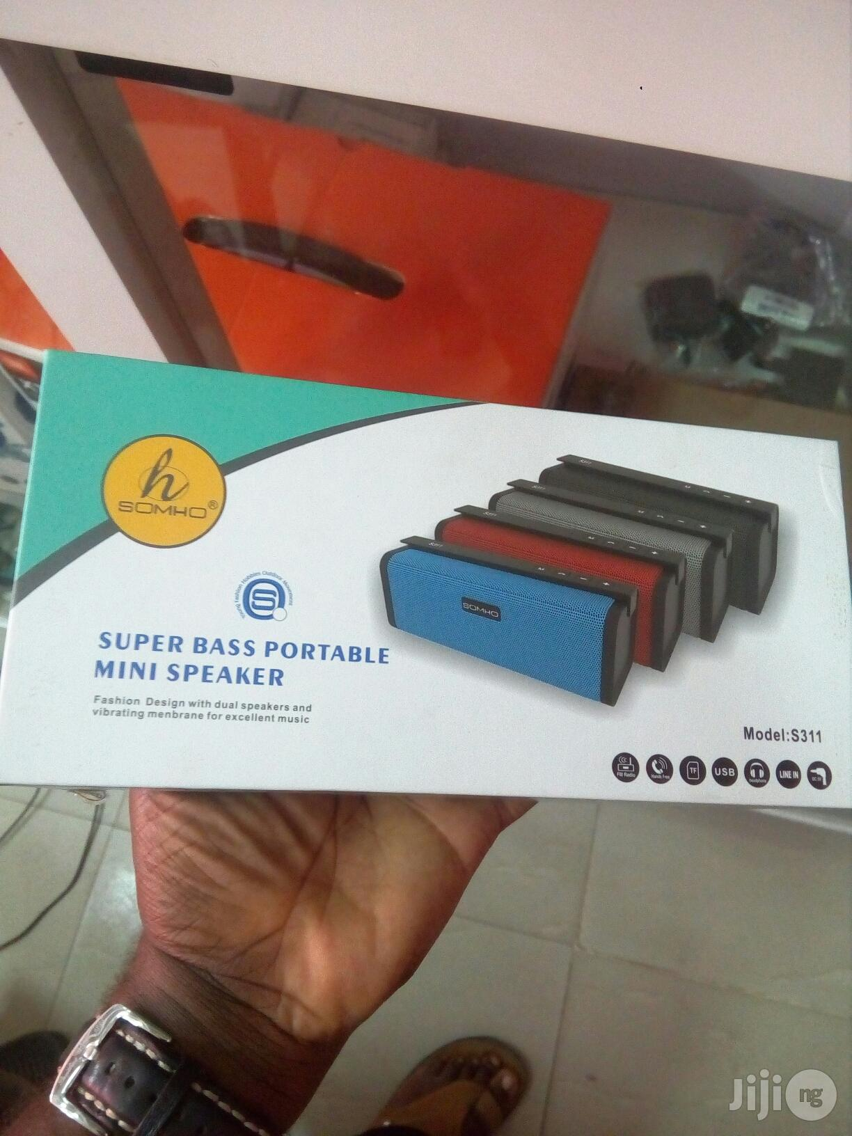 Somho Portable Bluetooth Speaker Mini S311