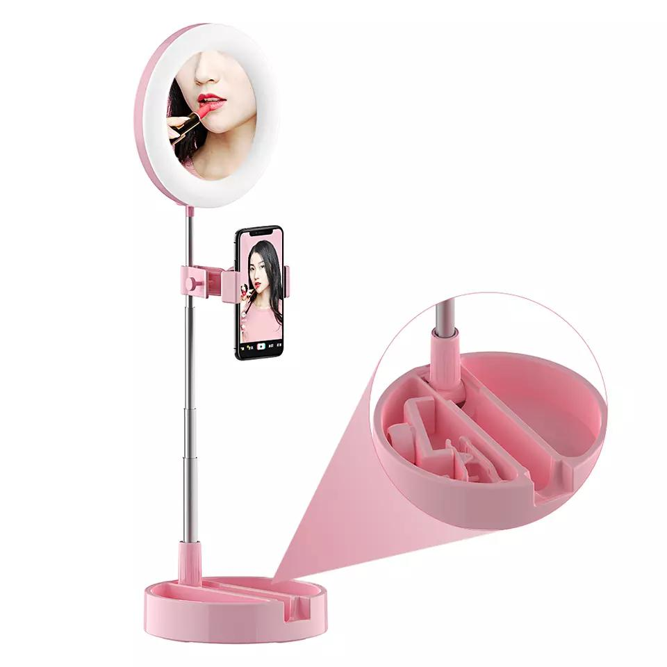 Archive: Portable Selfie Ring Light With Phone Holder