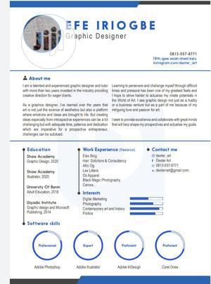 Computing & IT CV | Computing & IT CVs for sale in Abuja (FCT) State, Jikwoyi