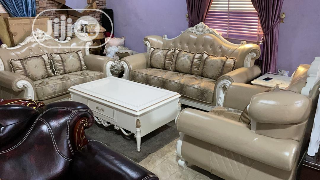 Royal Fabric/Leather Sofa Chairs by 7sitters