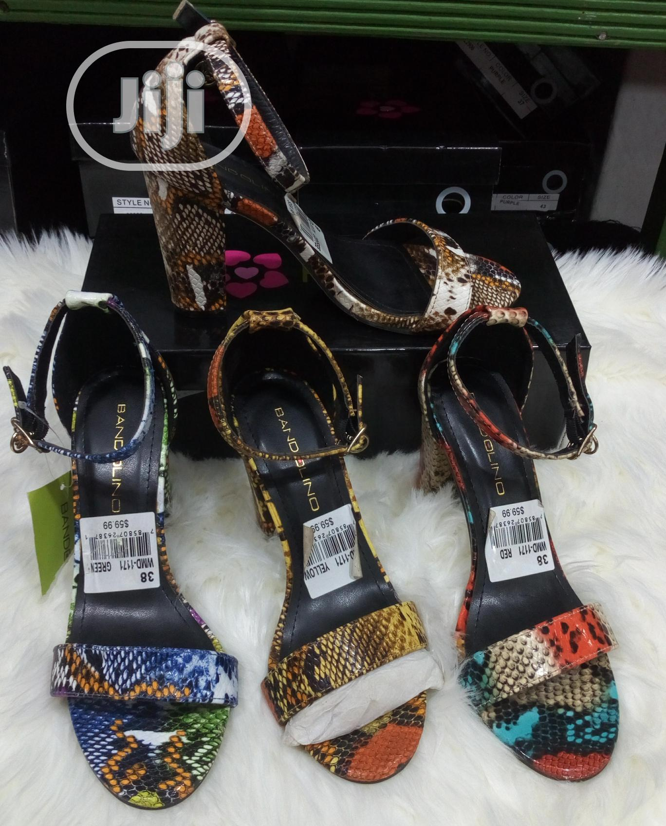 Archive: Block Heel Sandal