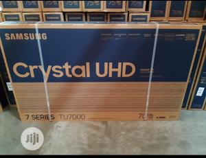 Samsung 75inches Crystal 4K Smart TV Full HD Television   TV & DVD Equipment for sale in Lagos State, Ojo