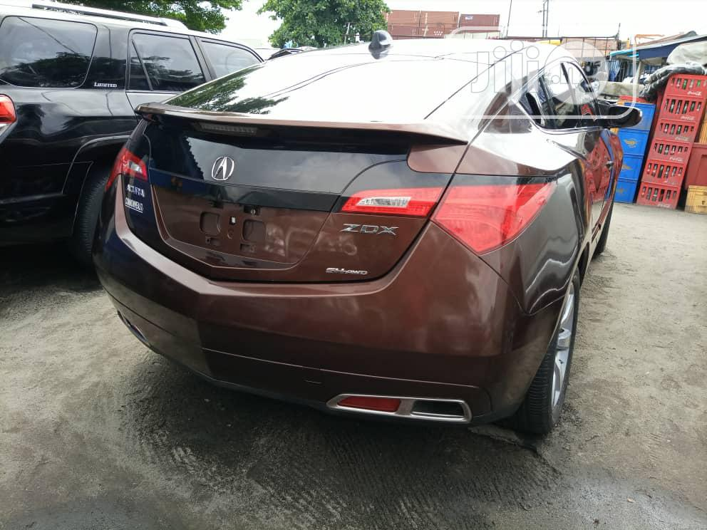 Acura ZDX 2011 Base AWD Brown | Cars for sale in Apapa, Lagos State, Nigeria
