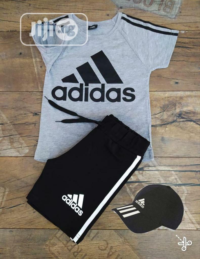 Quality Adidas Kids Polo Top Shorts #11
