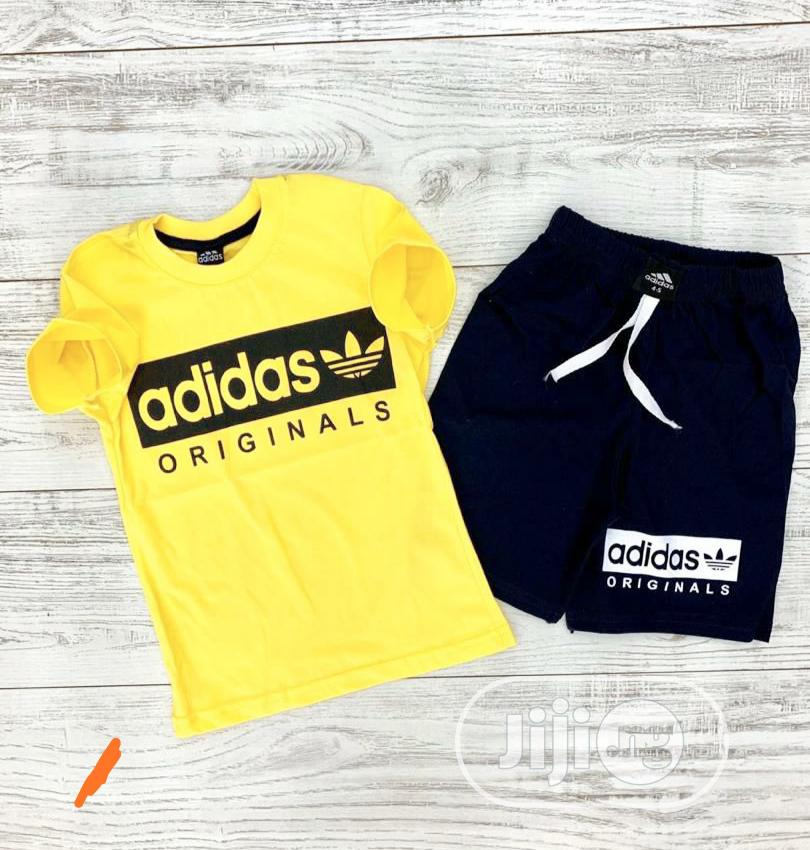 Quality Kids Polo Top and Shorts # 11