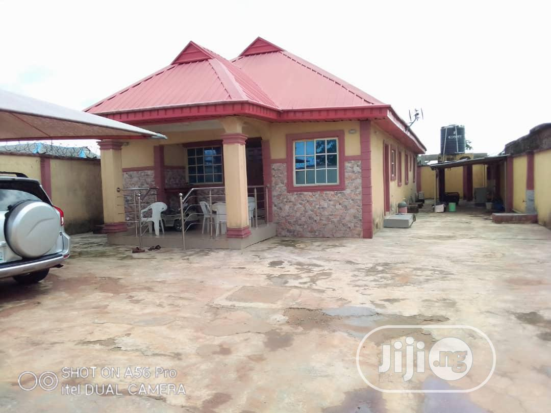 Well Built 3bedroom Bungalow At Agura Fence Gated Ikorodu