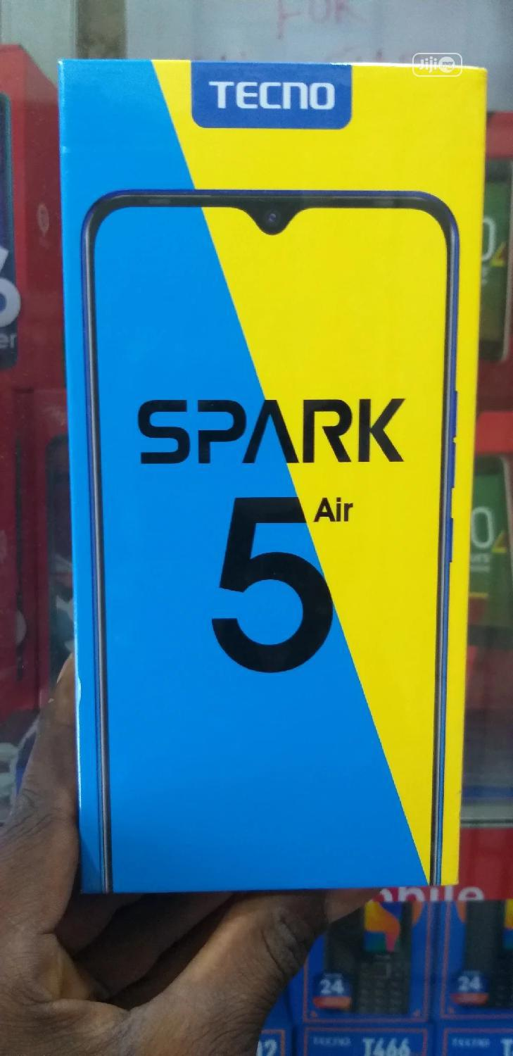 New Tecno Spark 5 Air 32 GB Black | Mobile Phones for sale in Ikeja, Lagos State, Nigeria