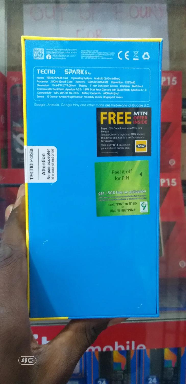 New Tecno Spark 5 Air 32 GB Black