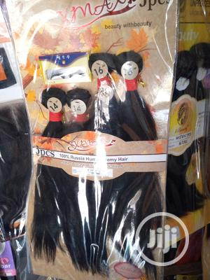 Human Hair With Closure and Eyelashes   Hair Beauty for sale in Lagos State, Ikoyi