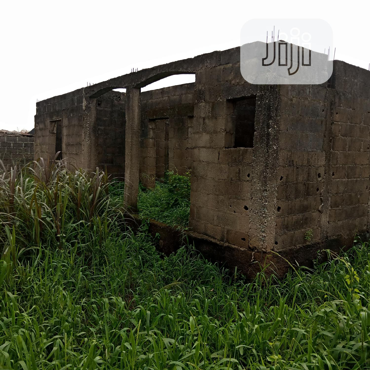 An Uncompleted 3 Bedroom Bungalow All Ensuite