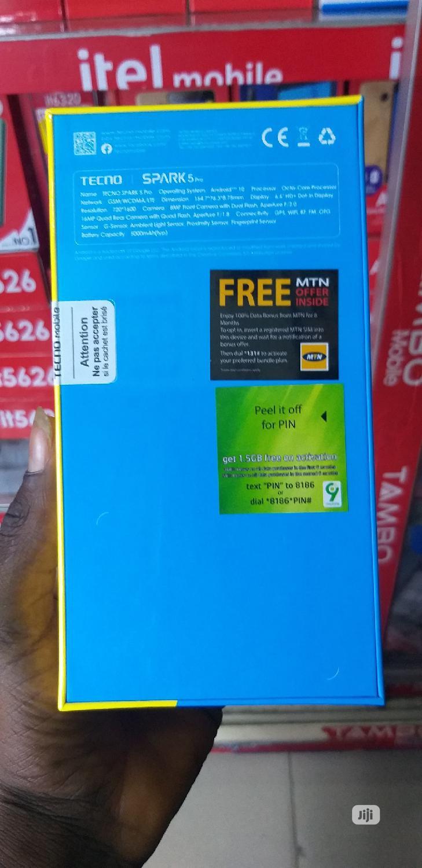 New Tecno Spark 5 Pro 64 GB Black   Mobile Phones for sale in Ikeja, Lagos State, Nigeria