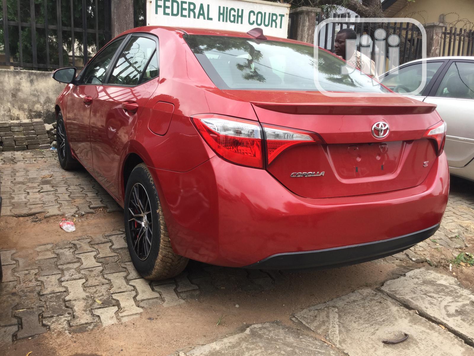 Toyota Corolla 2015 Red | Cars for sale in Ikeja, Lagos State, Nigeria