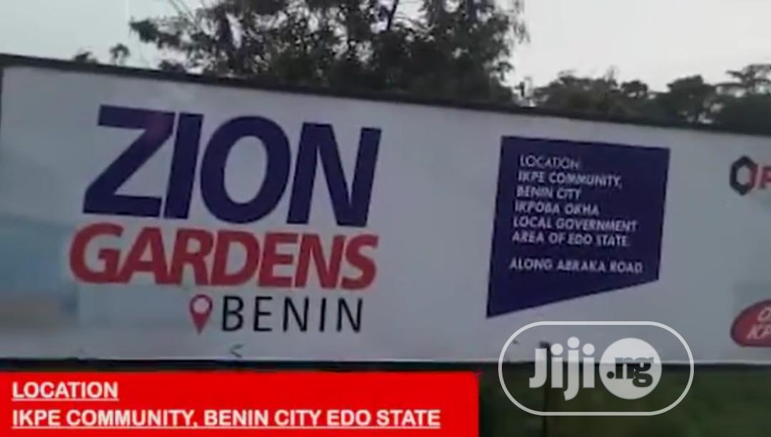 Zion Gardens Benin, Ikpe Community, Benin City | Land & Plots For Sale for sale in Ikpoba-Okha, Edo State, Nigeria