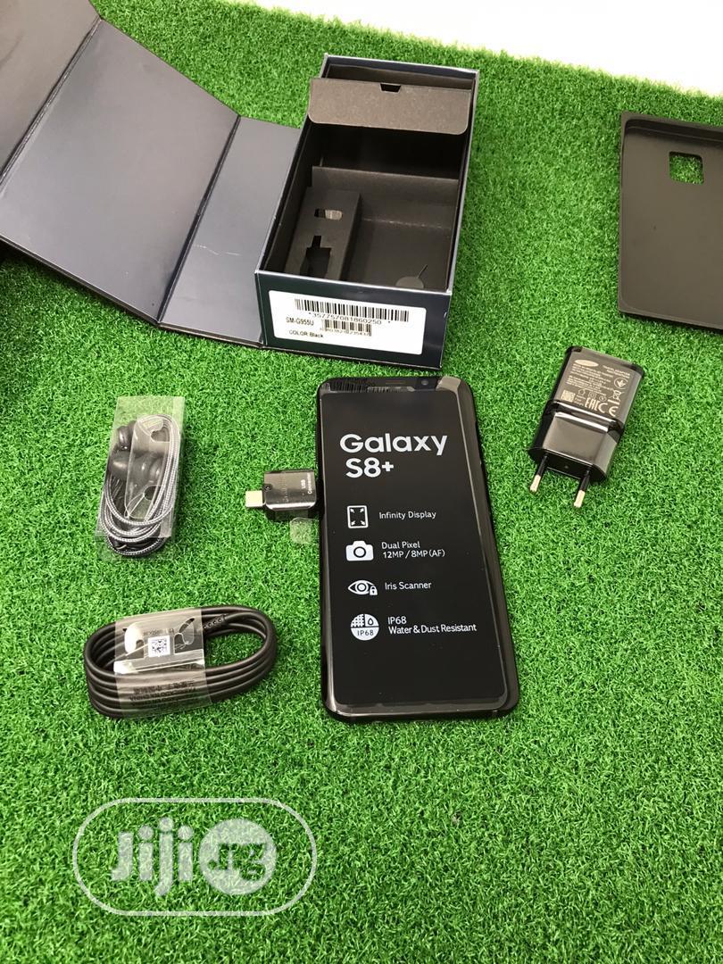 Samsung Galaxy S8 Plus 64 GB Black   Mobile Phones for sale in Ibadan, Oyo State, Nigeria