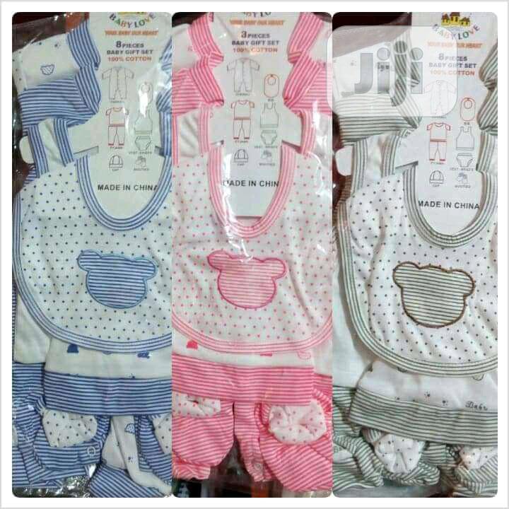 Newborn Unisex Cloth Set