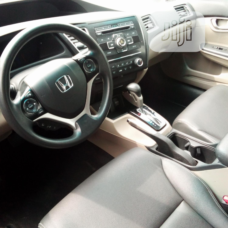Honda Civic 2013 HF Sedan EX-L Brown   Cars for sale in Ikeja, Lagos State, Nigeria