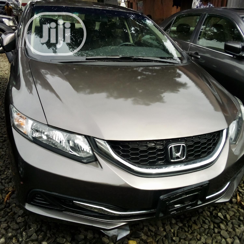 Honda Civic 2013 HF Sedan EX-L Brown