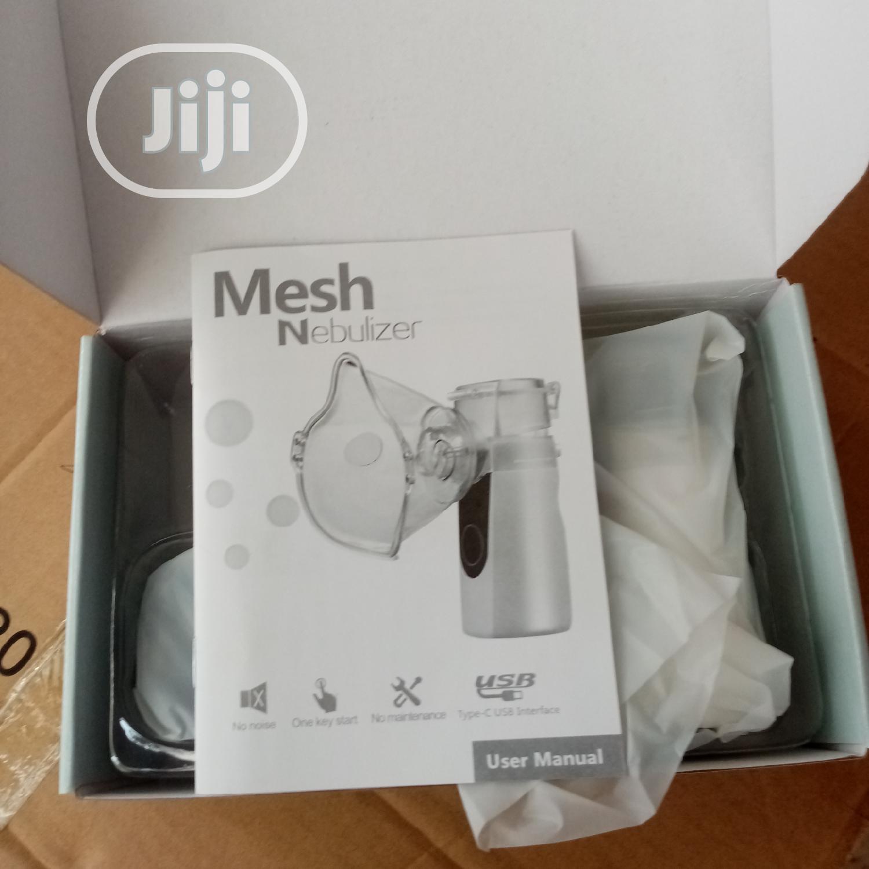 Archive: Portable Mesh Nebulizer
