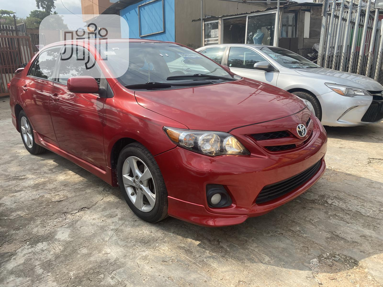Toyota Corolla 2011 Red | Cars for sale in Magodo, Lagos State, Nigeria