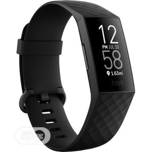 Fitbit Charge 4 Health & Fitness Tracker (Black) | Smart Watches & Trackers for sale in Lagos State, Ajah