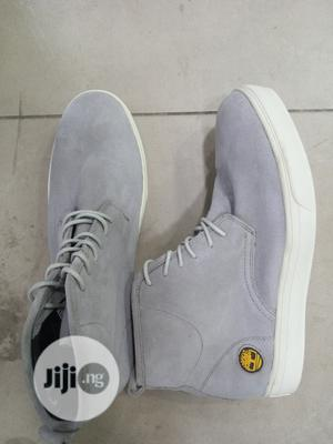 Quality Men Ash Timberland | Shoes for sale in Lagos State, Orile