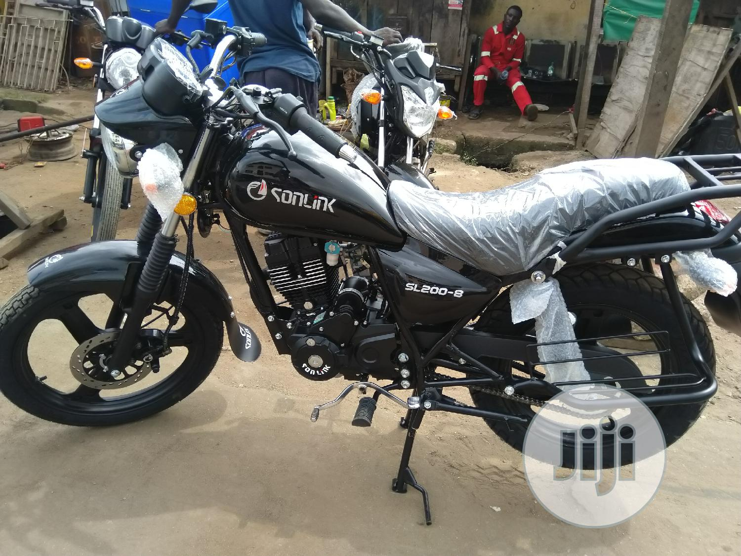 New Sonlink SL200-8B 2020 Black   Motorcycles & Scooters for sale in Yaba, Lagos State, Nigeria