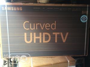 """Samsung UHD 65"""" Curved Smart Tv 