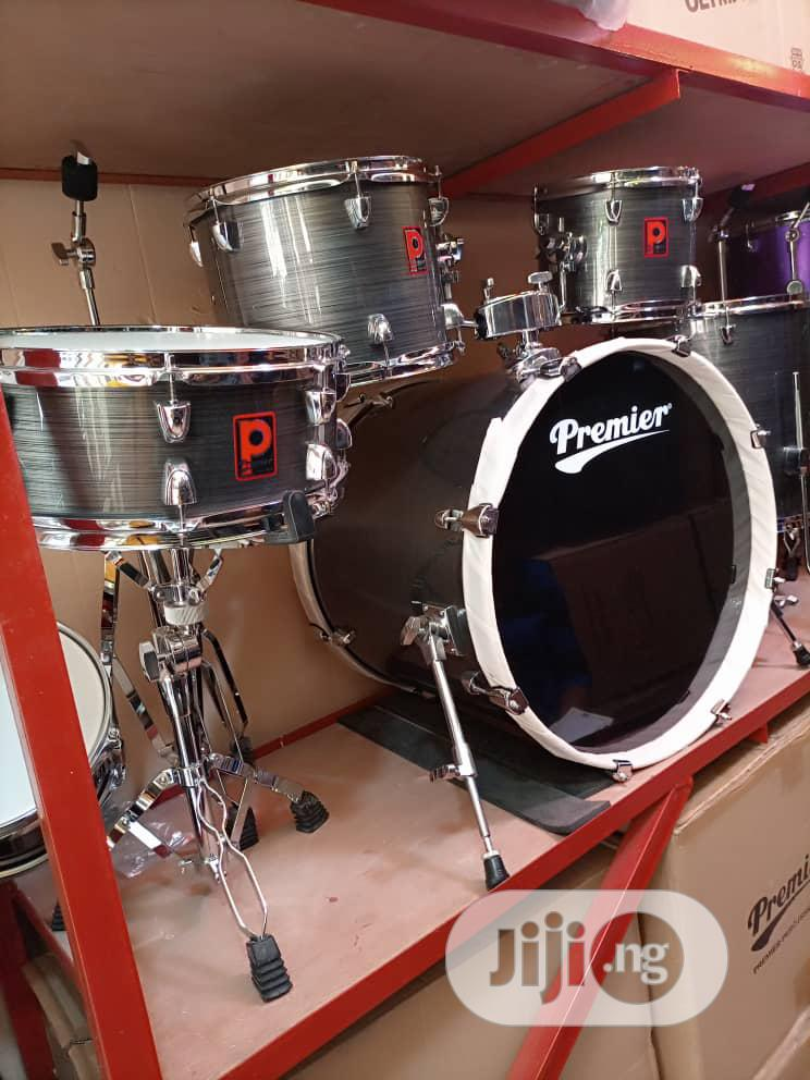 7 Piece Premier Drum Set