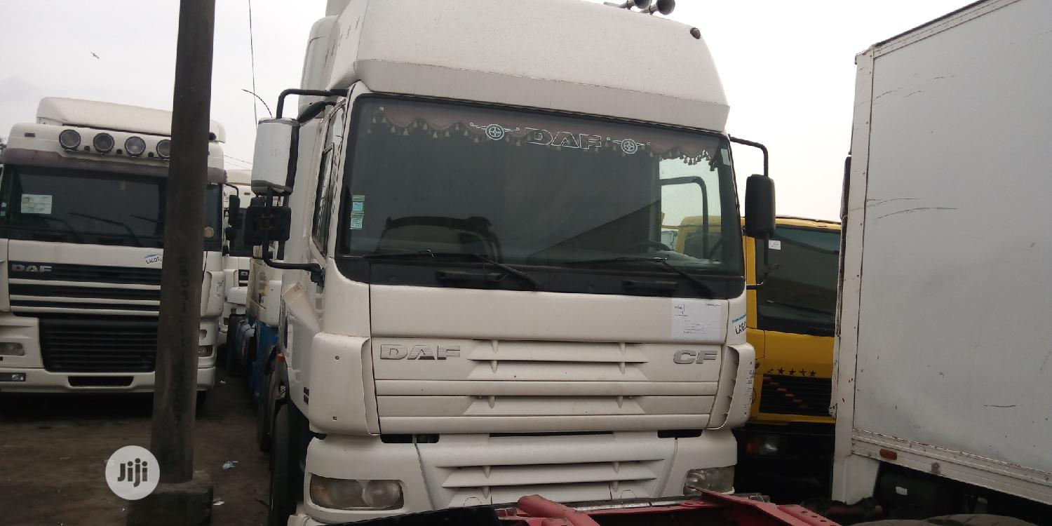 DAF CF 85 Tractor Head | Heavy Equipment for sale in Apapa, Lagos State, Nigeria