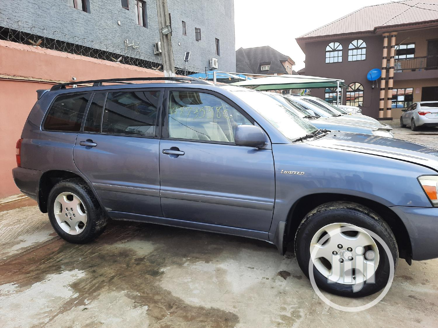 Toyota Highlander 2006 Limited V6 4x4 Blue | Cars for sale in Amuwo-Odofin, Lagos State, Nigeria
