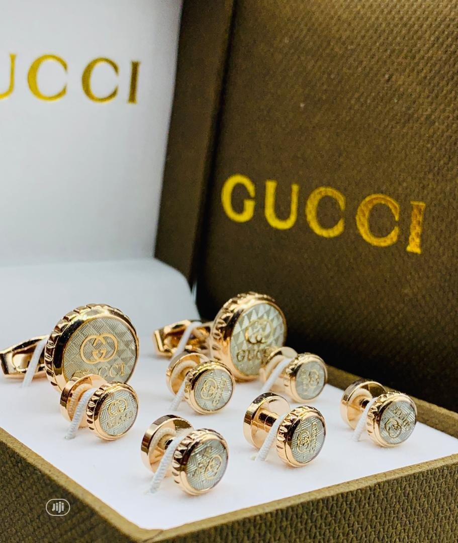 Archive: Gucci Cufflinks With Bottons