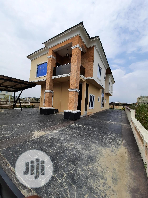 A Standard 5bedrooms Fully Detached Duplex
