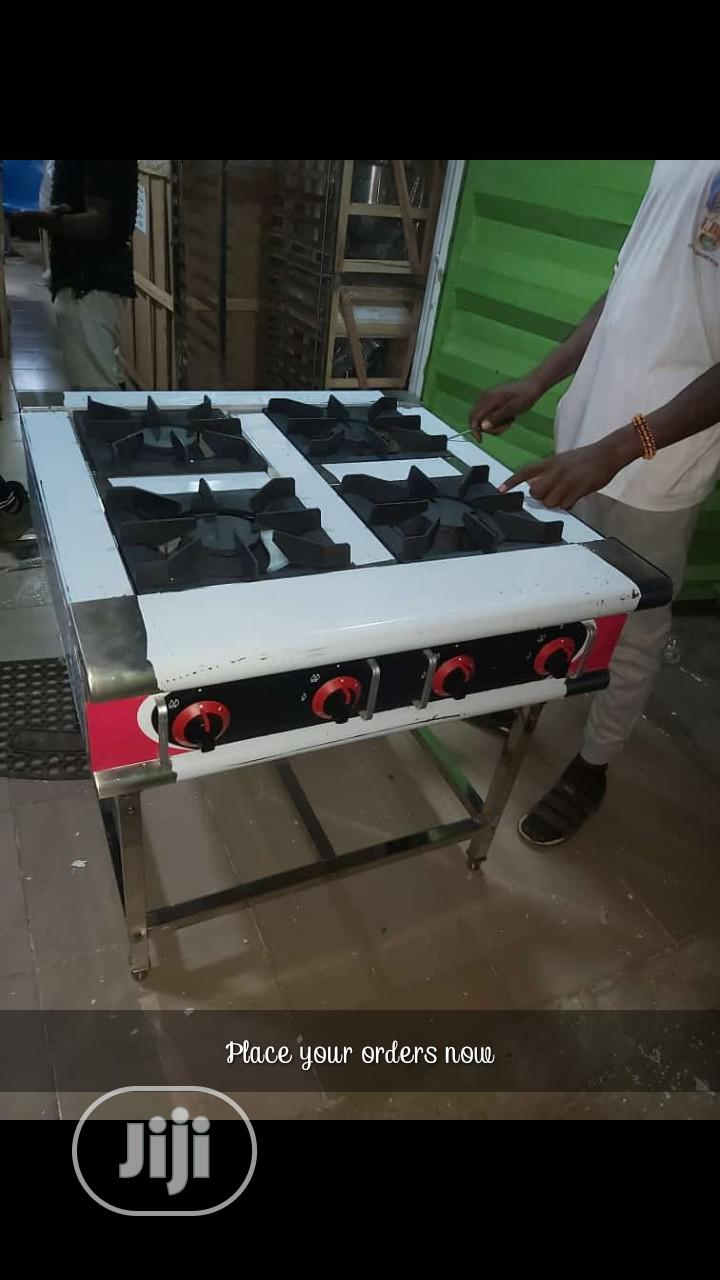 Original Gas Cooker Without Oven 4 Face Standing