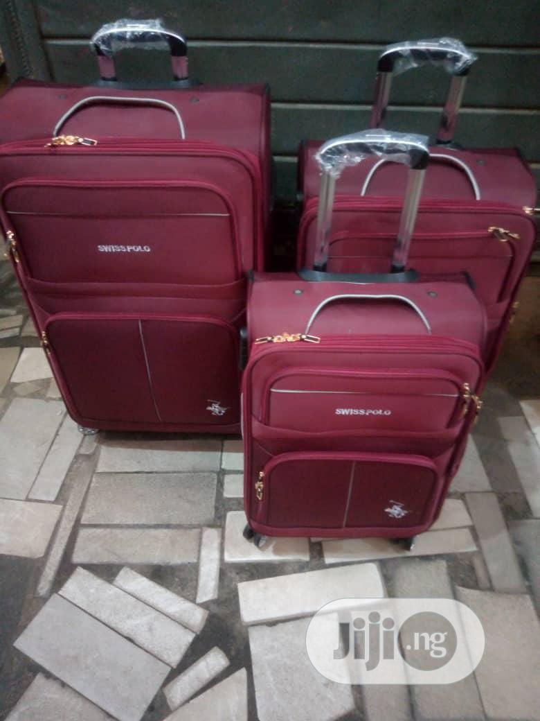 Swiss Polo Luggage Box - 3 Piece Set