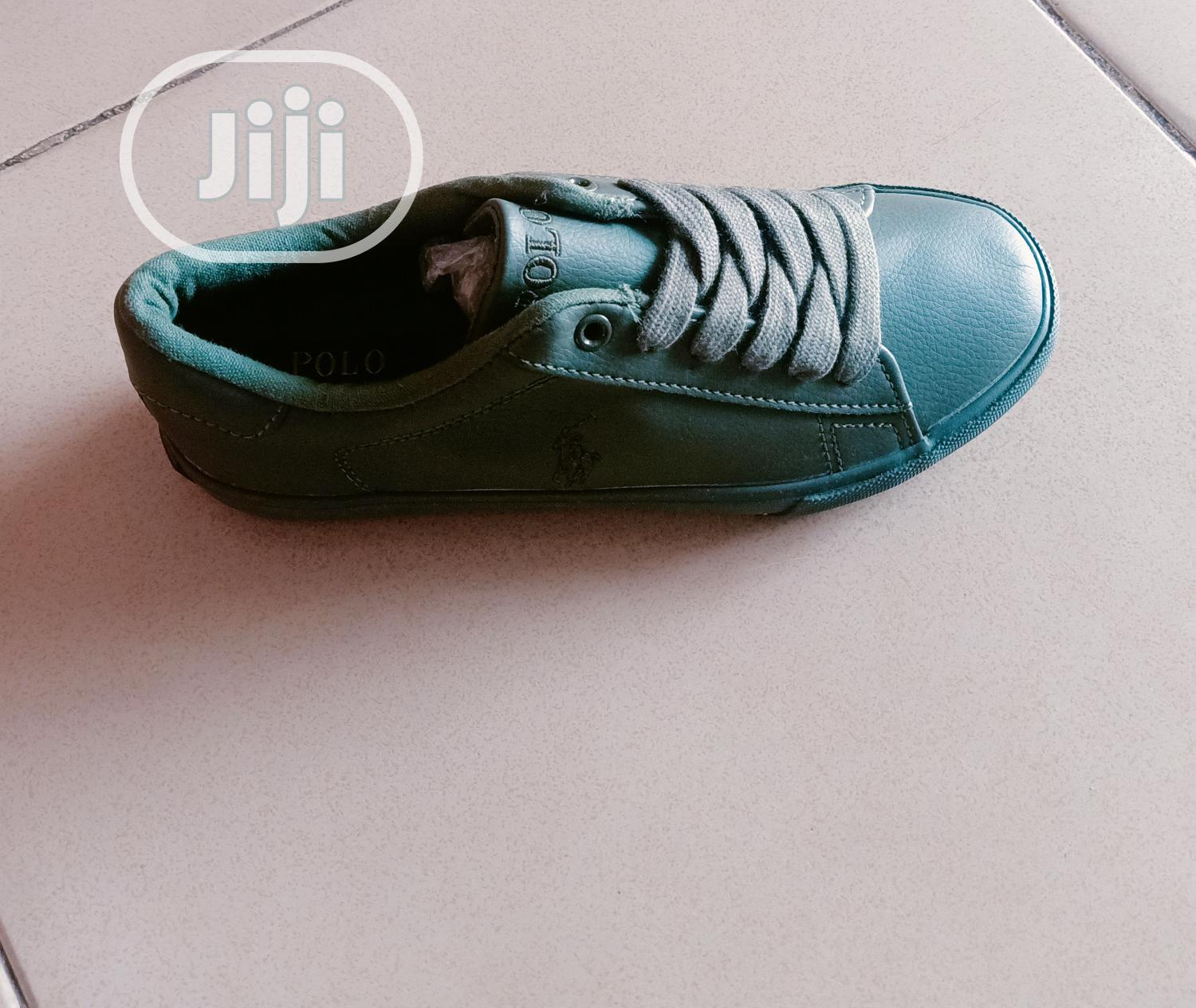 Army Green Polo Sneakers