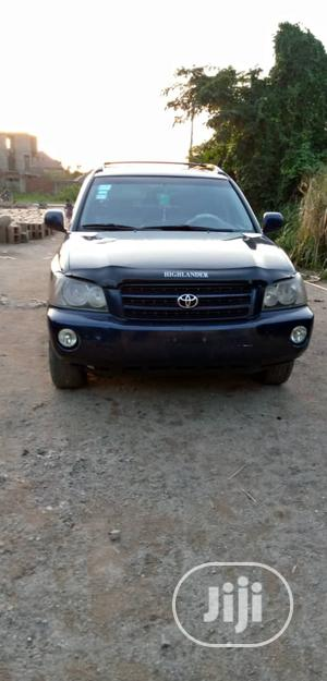 Toyota Highlander 2004 V6 AWD Blue | Cars for sale in Ogun State, Ado-Odo/Ota