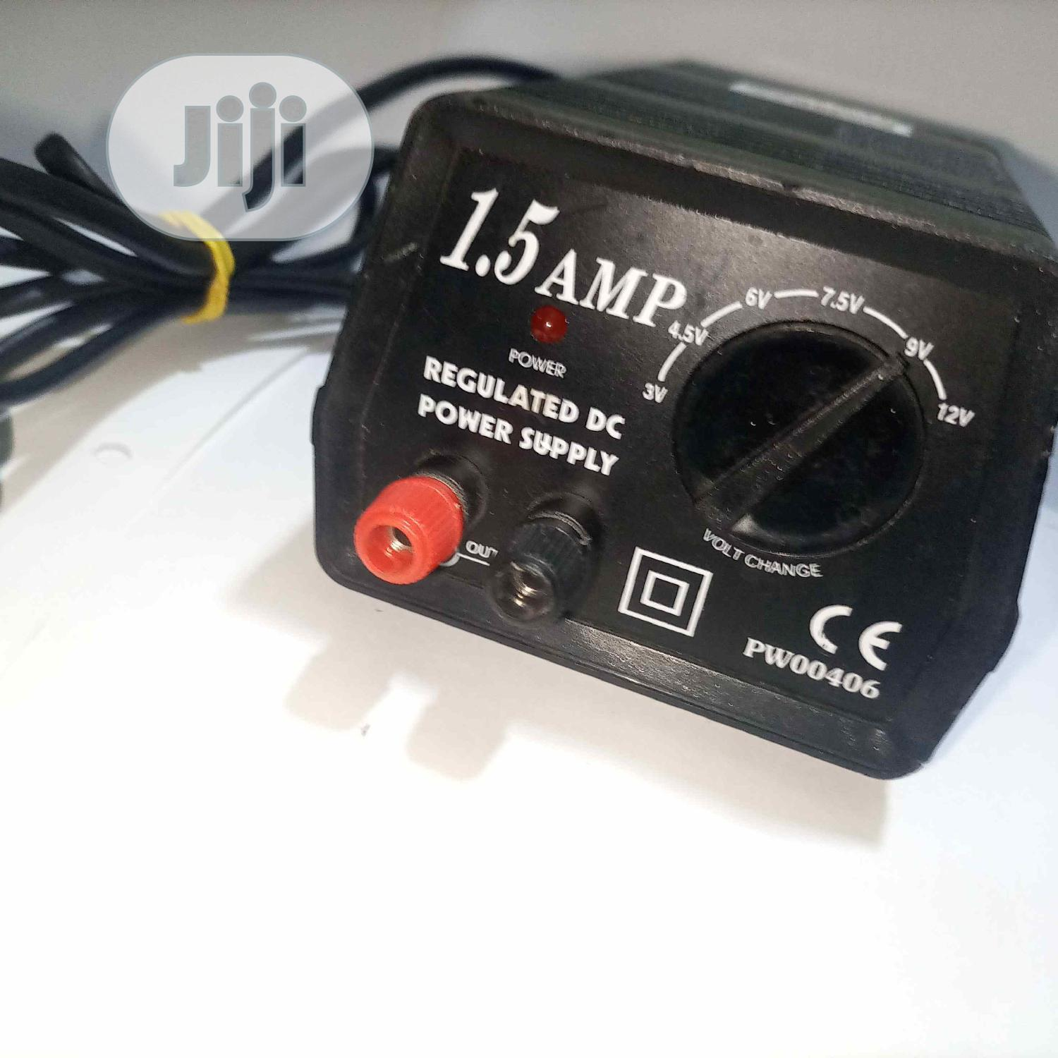 1.5 Amp Regulated Dc Power Supply | Accessories & Supplies for Electronics for sale in Ikeja, Lagos State, Nigeria