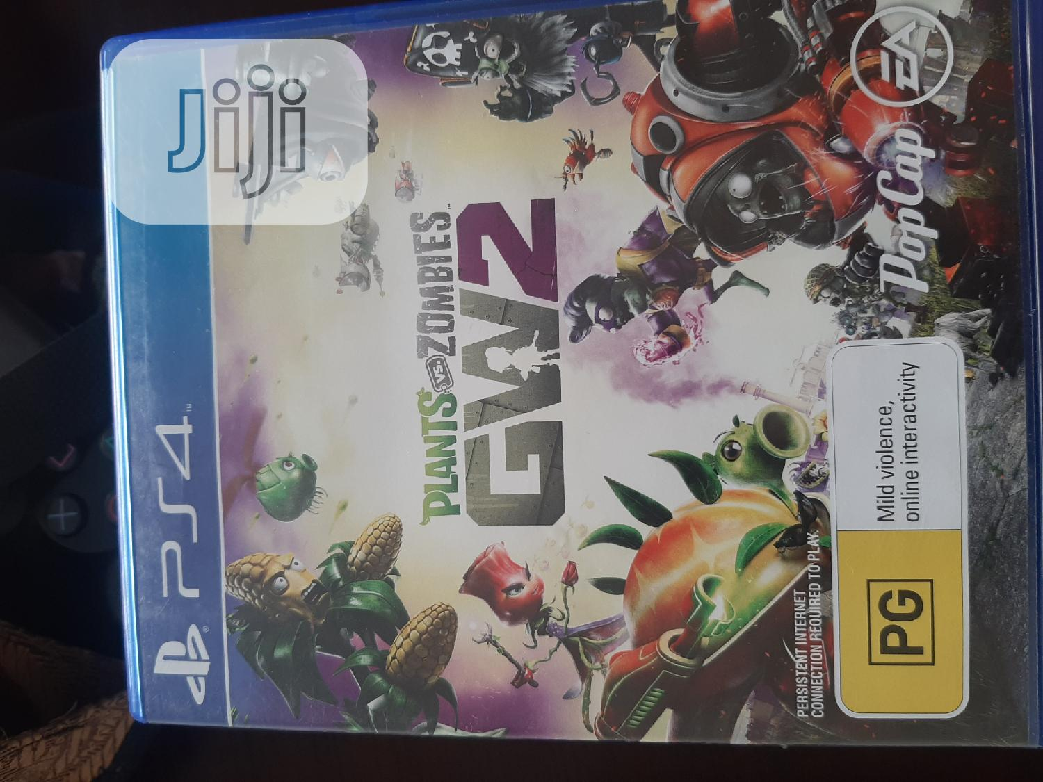 PS4 Plant vs Zmobia Garden Warfare