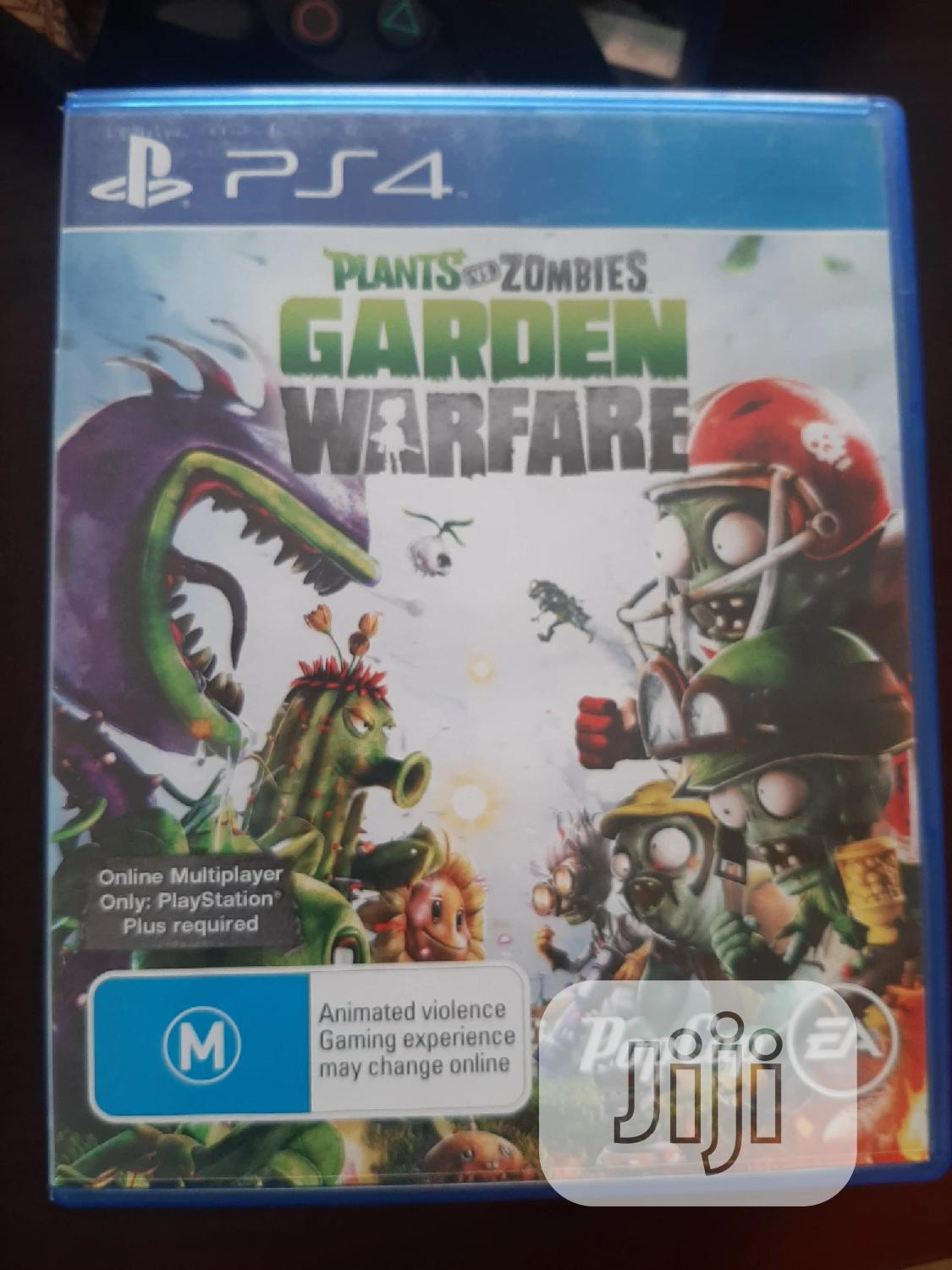 PS4 Plant vs Zmobia Garden Warfare | Video Games for sale in Ikeja, Lagos State, Nigeria
