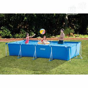 Intex Rectangular Frame Pool 15x7ft   Sports Equipment for sale in Lagos State, Ojodu
