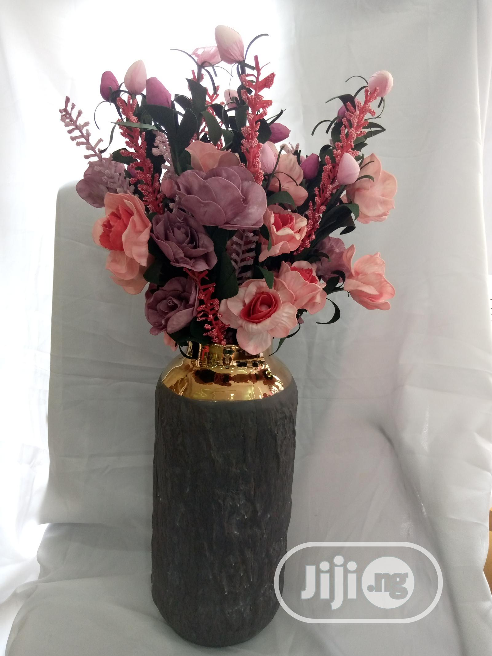 Archive: Charcoal Flower Vase