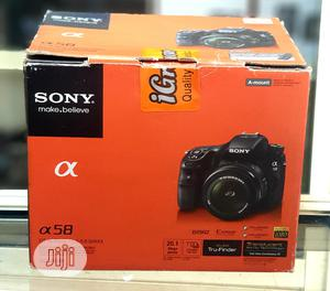 Sony DSLR Camera Alpha A58 With 18-55mm Lens | Photo & Video Cameras for sale in Lagos State, Ikeja
