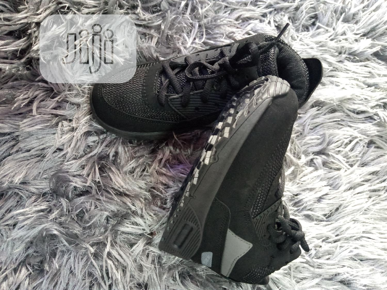 Fancy Black Unisex Sneakers | Children's Shoes for sale in Amuwo-Odofin, Lagos State, Nigeria