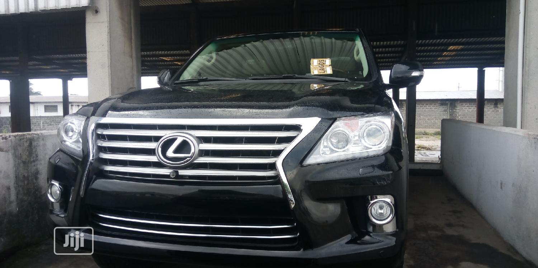 Lexus LX 2013 570 Base Black
