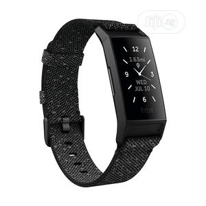 Fitbit Charge 4 Fitness Tracker - Special Edition - Black | Smart Watches & Trackers for sale in Lagos State, Ikeja