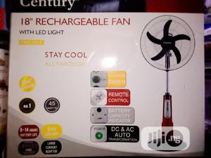 Century Rechargable Fan 18 Inches   Home Appliances for sale in Lagos State, Lagos Island (Eko)