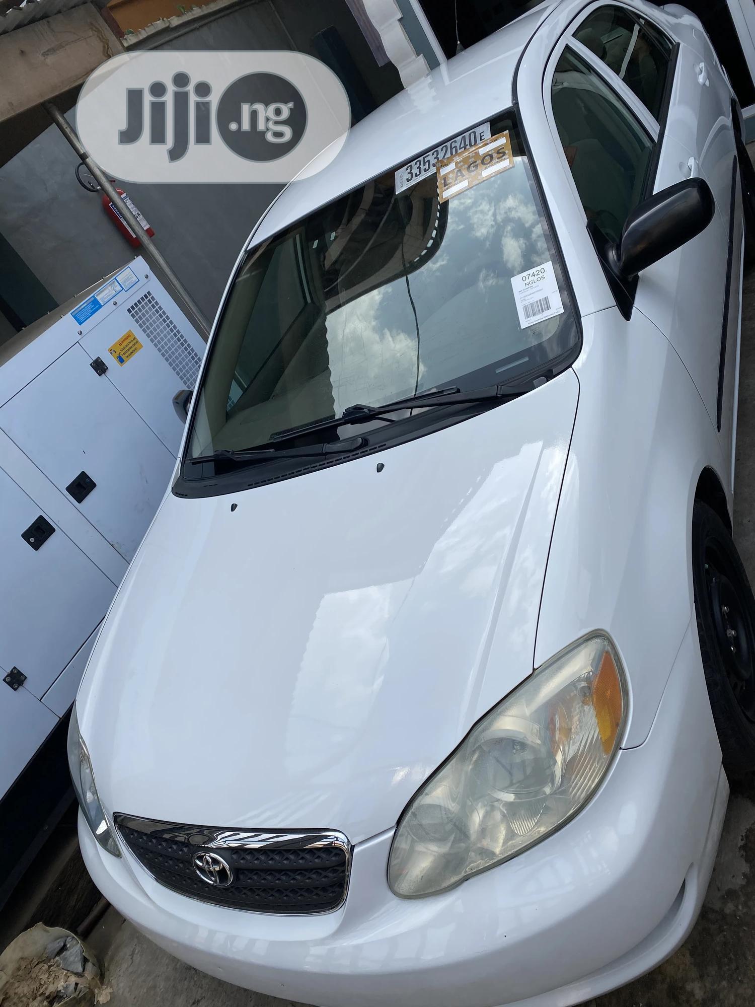 Archive: Toyota Corolla 2006 CE White