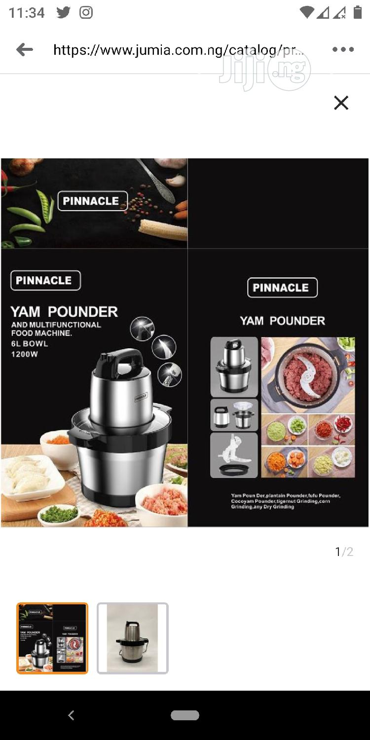 Yam Pounder and Food Processor